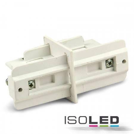 3-Phasen Classic Linear-Verbinder isoliert, weiß