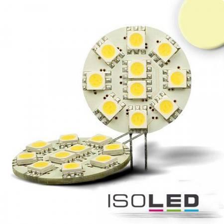 G4 LED 10SMD, 2W, warmweiß, Pin seitlich