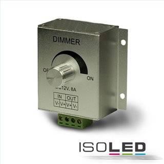 LED PWM-Controller, 1 Kanal, 12-24V DC 8A