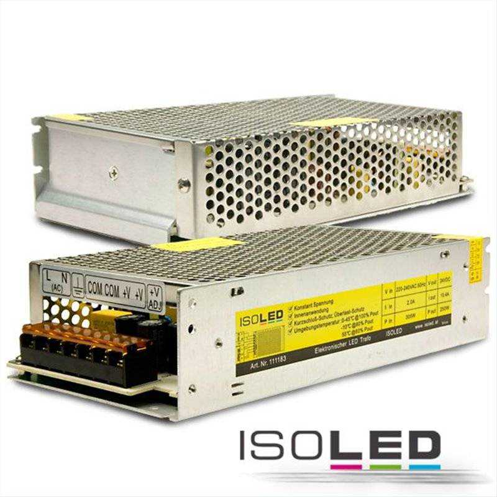 LED Trafo 24V/DC, 0-250W, Gitter