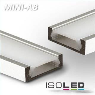 LED Montageprofil MINI-AB10, eloxiert L: 2000mm
