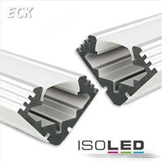 LED Montageprofil ECK10, eloxiert L: 2000mm
