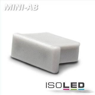 Endkappe für Profil MINI-AB10 silber