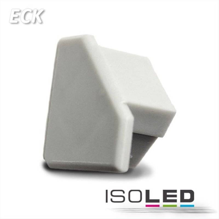 Endkappe für Profil ECK10 silber