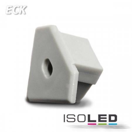 Endkappe für Profil ECK10 silber, inkl. Kabeldurchführung