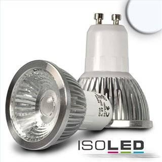 GU10 LED Strahler 5,5W COB, 38°, kaltweiß, dimmbar