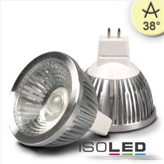MR16 LED Strahler 5,5W COB, 38°, warmweiß, dimmbar