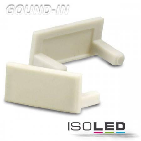 Endkappe für Profil GROUND-IN10 weiß