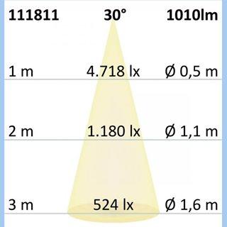 AR111 G53 Spot, 11W, 30°, neutralweiß