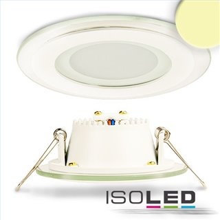 LED Downlight, 8W, Glas, seitlich abstrahlend, warmweiß