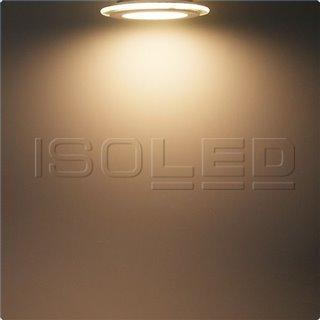 LED Downlight, 8W, Glas, seitlich abstrahlend, warmweiß