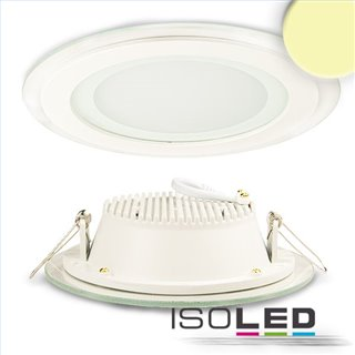 LED Downlight, 12W, Glas, seitlich abstrahlend, warmweiß