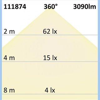 E27/E40 Corn 23W, 360°, neutralweiß