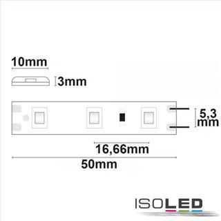 LED SIL830-Flexband, 12V, 4,8W, IP66, warmweiß