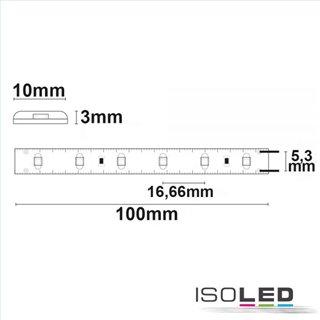 LED SIL830-Flexband, 24V, 4,8W, IP66, warmweiß