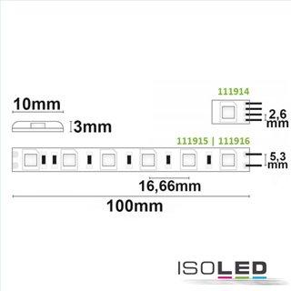 LED SIL842-Flexband, 24V, 14,4W, IP66, neutralweiß