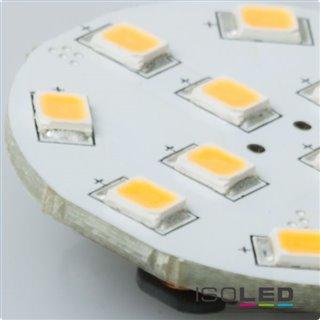 G4 LED 12SMD, 2W, warmweiß, Pin seitlich