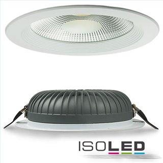 LED COB Reflektor Downlight 30W, 100°, weiß, warmweiß