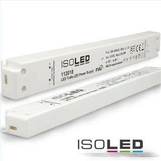 LED Trafo 12V/DC, 0-30W, ultraslim, SELV