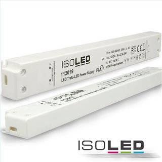 LED Trafo 24V/DC, 0-30W, ultraslim, SELV