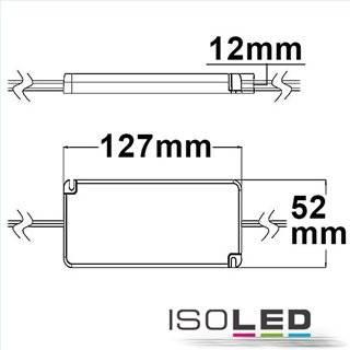 LED Konstantstrom-Trafo 350mA, 0-12W, SELV