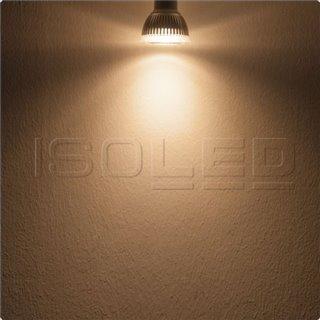 GU10 LED Strahler 6W GLAS-COB, 70°, warmweiß, dimmbar