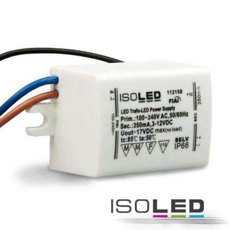 LED Konstantstrom-Trafo 350mA, 1-4W, SELV