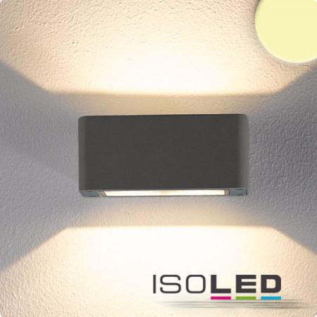 LED Wandleuchte Up&Down 4x3W CREE, IP54, anthrazit, warmweiß