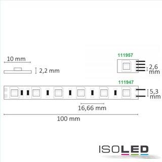 LED SIL830-Flexband, 24V, 14,4W, IP20, warmweiß