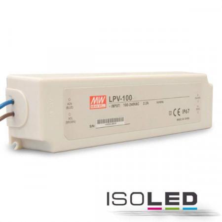 Trafo MW LPV 12V/DC, 0-100W, IP67