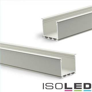 LED Einbauprofil WING20 Miniflansch gerade, eloxiert L: 2000mm