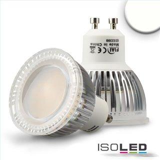 GU10 LED Strahler 6W Glas diffuse, 120°, neutralweiß