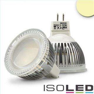 MR16 LED Strahler 6W Glas diffuse, 120°, warmweiß
