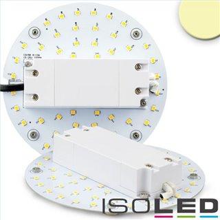 LED Umrüstplatine 130mm, 9W, mit Magnet, warmweiß