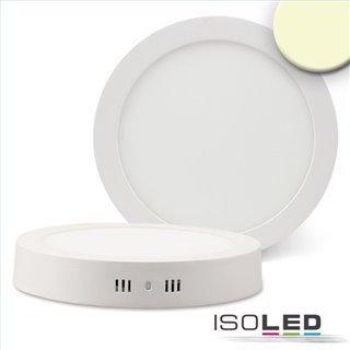 LED Deckenleuchte weiß, 18W, rund, 220mm, warmweiß