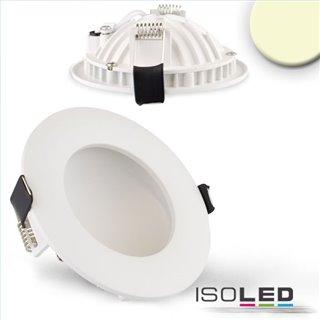 LED Downlight LUNA 8W, indirektes Licht, weiß, warmweiß