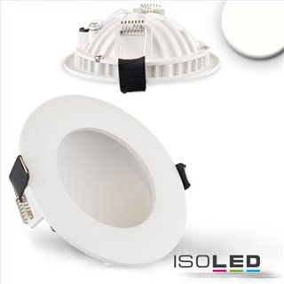 LED Downlight LUNA 8W, indirektes Licht, weiß, neutralweiß