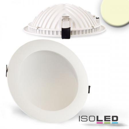 LED Downlight LUNA 18W, indirektes Licht, weiß, warmweiß