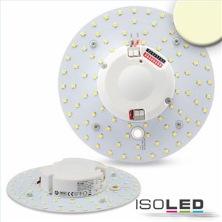 LED Umrüstplatine 160mm, 14W, warmweiß, mit Haltemagnet und HF-Bewegungssensor