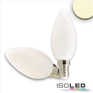 E14 LED Kerze, 2W, milky, warmweiß, dimmbar