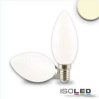 E14 LED Kerze, 4W, milky, warmweiß, dimmbar