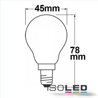 E14 LED Illu, 4W, klar, warmweiß, dimmbar