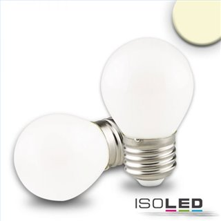 E27 LED Illu, 4W, milky, warmweiß, dimmbar