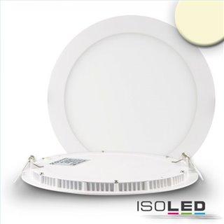 LED Downlight, 18W, ultra flach, rund, weiß, warmweiß, dimmbar