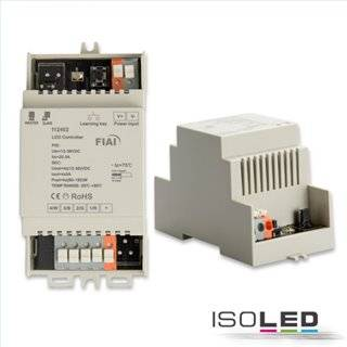 Sys-One Hutschienen Funk PWM-Controller, 4 Kanal, 12-36V 4x5A, 48V 4x2.5A