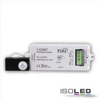PIR Bewegungmelder mit Sensorkopf, Erfassung max. 3m, 230V, 500VA