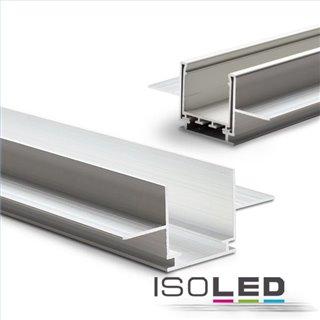 Installationskanal für Einbauprofile WING, L: 2000mm für 15mm Rigips-Platten
