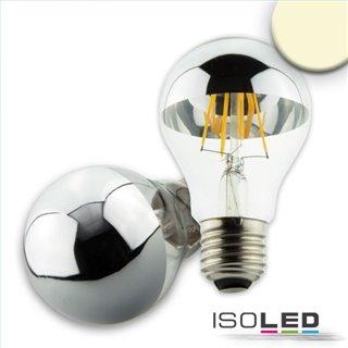 E27 LED Spiegelkopf, 4W, klar, warmweiß