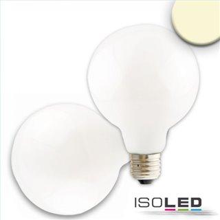 E27 LED Globe G95, 8W, 360°, milky, warmweiß, dimmbar