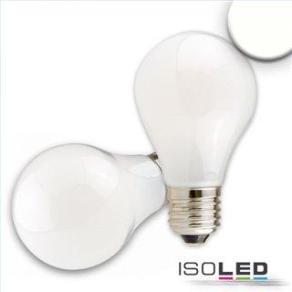 E27 LED Birne, 8W, milky, neutralweiß, dimmbar